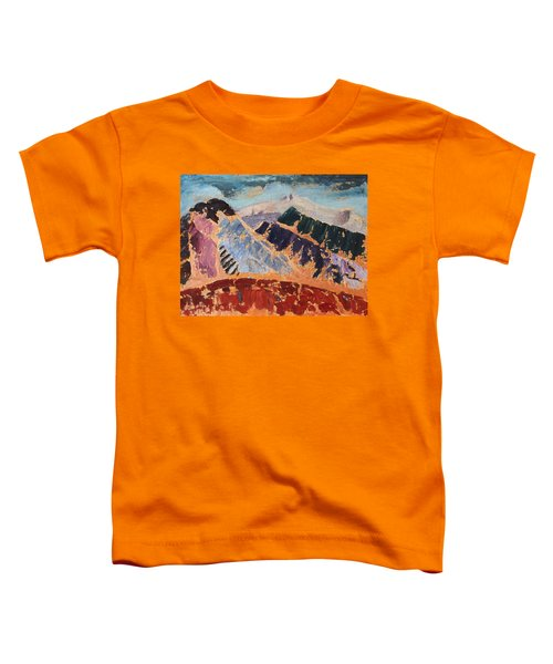 Mosaic Canigou Toddler T-Shirt