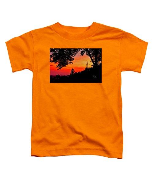 Mountain Sunrise Toddler T-Shirt
