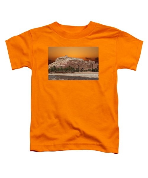 Mud Brick Buildings Of The Ait Ben Haddou Toddler T-Shirt