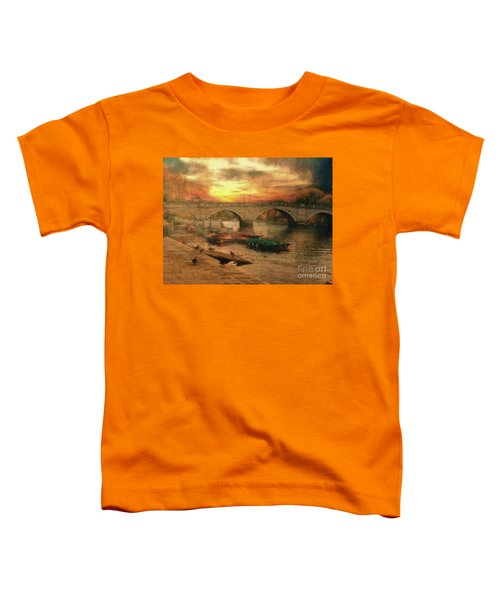 Once More To The Bridge Dear Friends Toddler T-Shirt