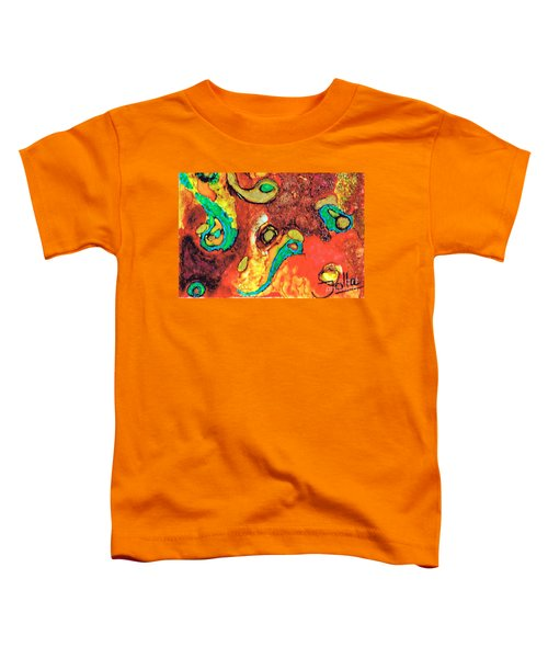 Paisley Whispers.. Toddler T-Shirt