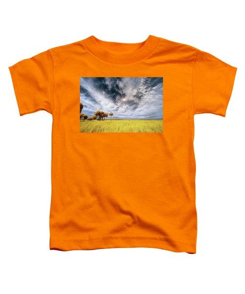 Palm Trees In Myakka Park Toddler T-Shirt