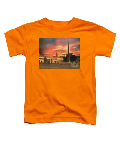 Piazza Del Popolo Rome Toddler T-Shirt