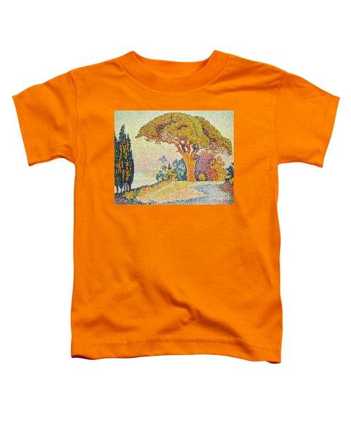 Pine Trees At Bertaud, Saint Tropez Provence Toddler T-Shirt