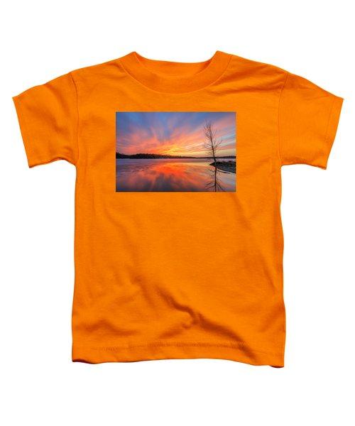 Pond Ablaze Toddler T-Shirt