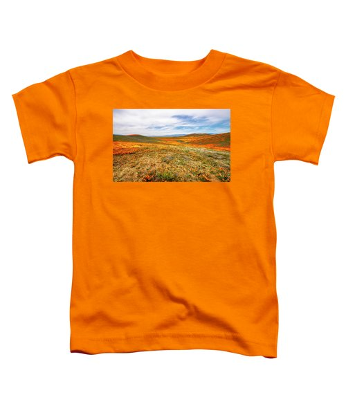 Poppies As Far As The Eye Can See Toddler T-Shirt