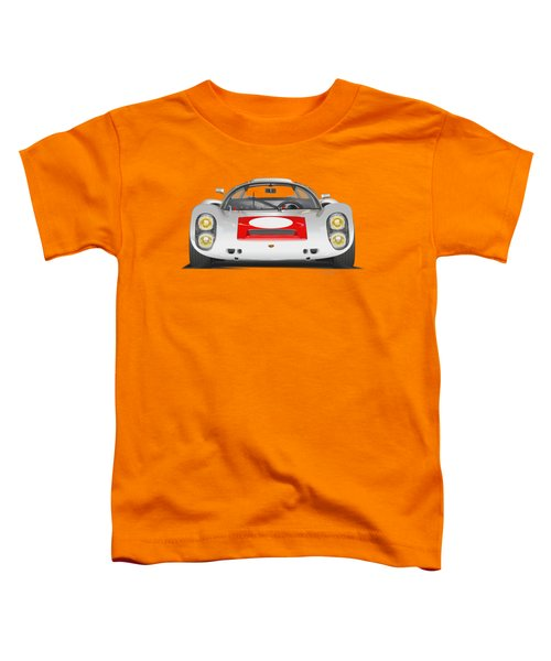 Porsche 910 No Background Toddler T-Shirt