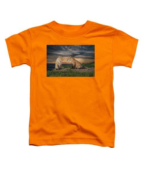Red Fox Kits - Past Curfew Toddler T-Shirt