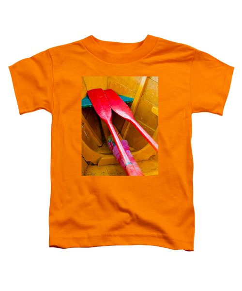 Red Oars Toddler T-Shirt