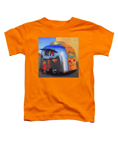 Reflections On An Airstream Toddler T-Shirt