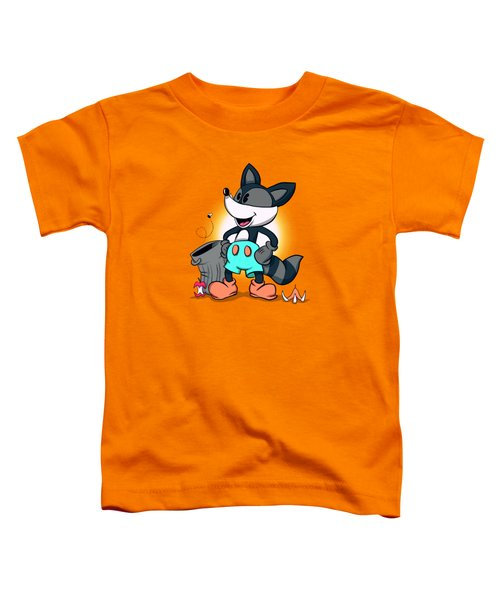 Ricky Raccoon  Toddler T-Shirt