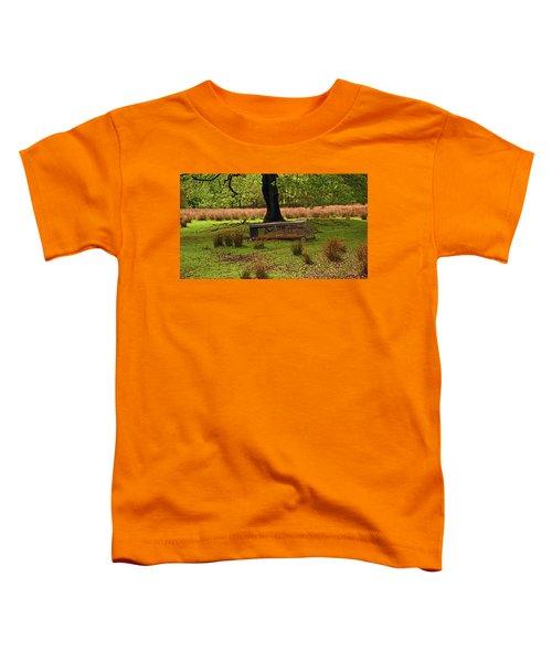 Rivington. Terraced Gardens. Feeding Trough. Toddler T-Shirt