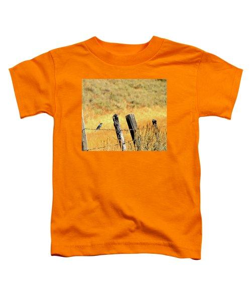 Rocky Mountain Blue Bird Toddler T-Shirt