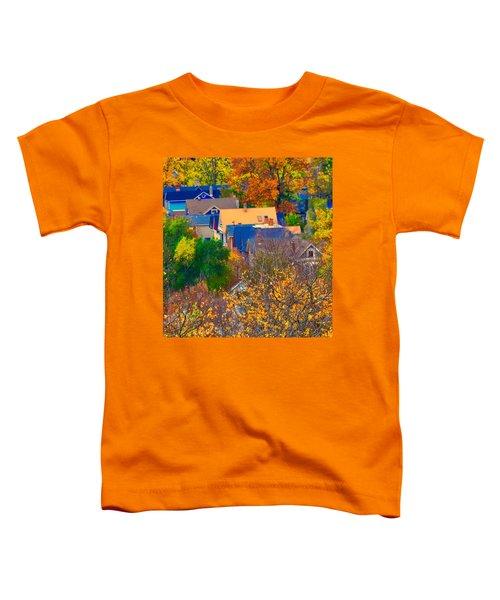 Rooftops Toddler T-Shirt