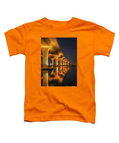 Roosevelt Bridge Portrait Toddler T-Shirt