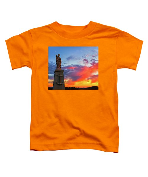 Saint Joseph Sunset  Toddler T-Shirt