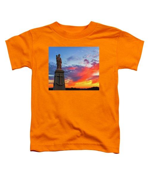 Saint Joseph Sunset  Toddler T-Shirt