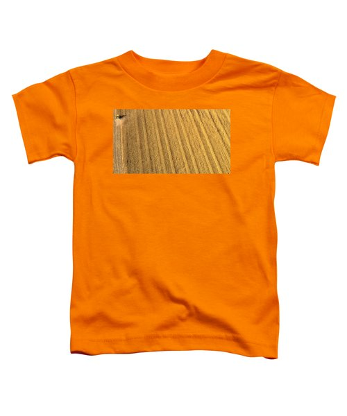 Toddler T-Shirt featuring the photograph Sixty Million Kernels by Carl Young