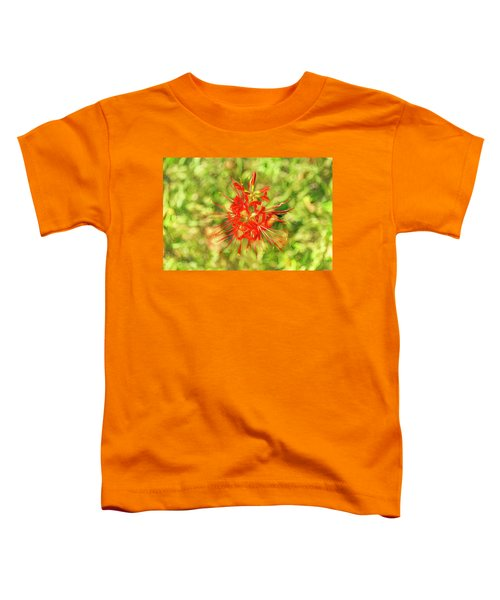 Spider Lily Pop Toddler T-Shirt