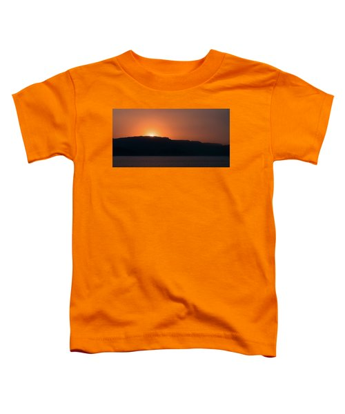 Sunset At Over The Mountains In The Red Sea Toddler T-Shirt