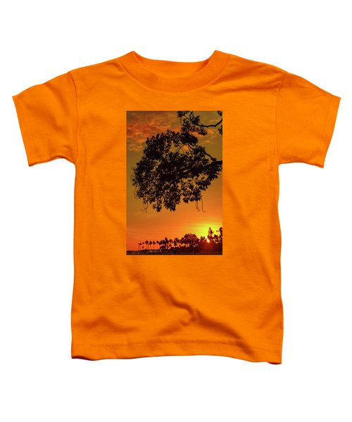 Sunset By The Pier Toddler T-Shirt