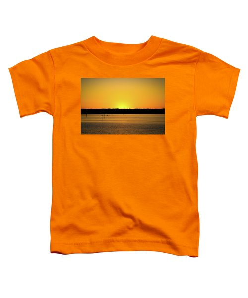 Sunset From National Harbor Toddler T-Shirt