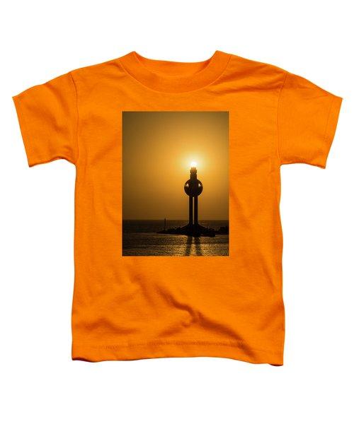 Sunset In Port Jeddah, Saudi Arabia Toddler T-Shirt