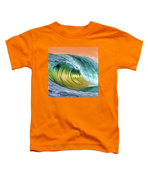 Surf Into The Sunset Toddler T-Shirt