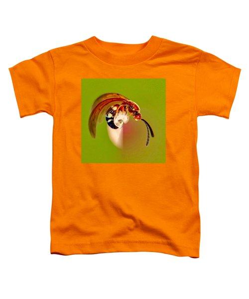 Swirly Wasp Toddler T-Shirt