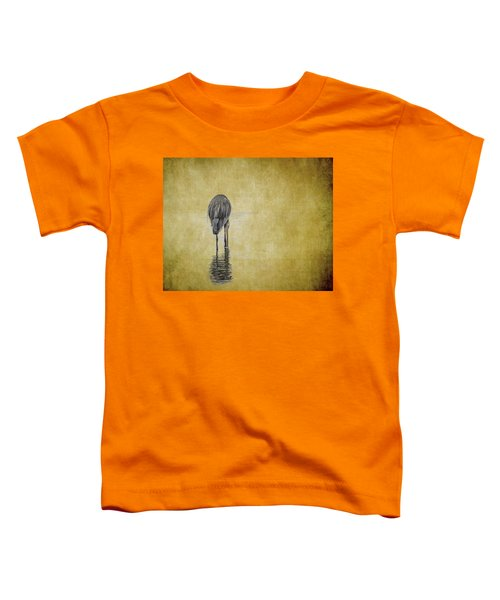 Table For One Toddler T-Shirt
