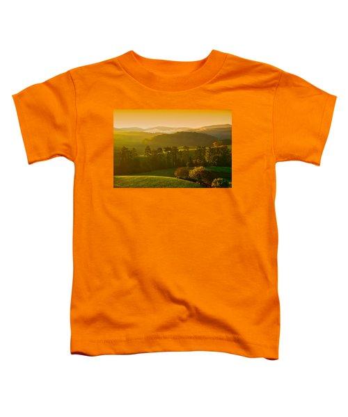 Smokey Mountain Sunrise Toddler T-Shirt