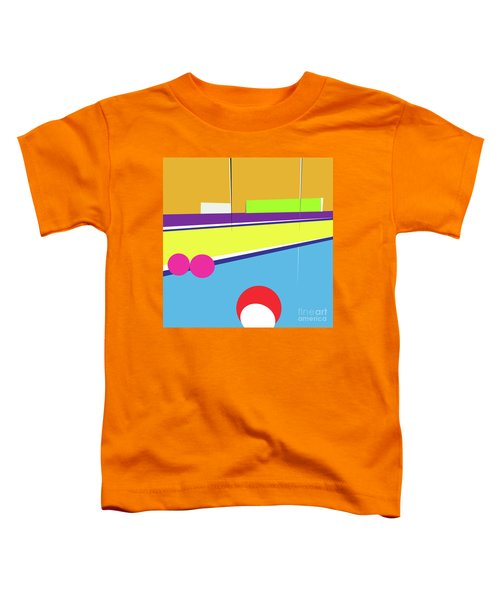 Tennis In Abstraction Toddler T-Shirt