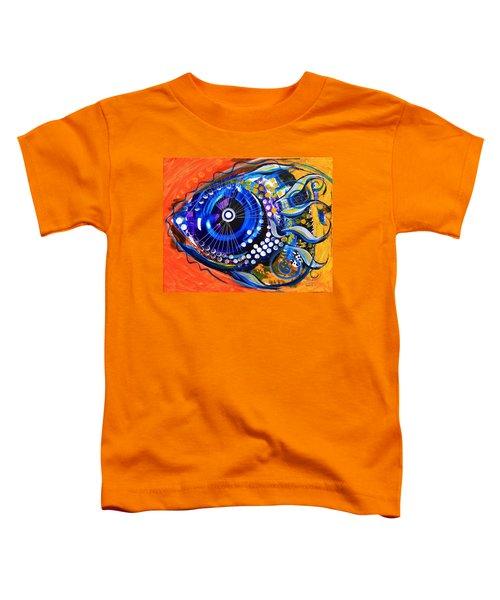 Tenured Acrimonious Fish Toddler T-Shirt