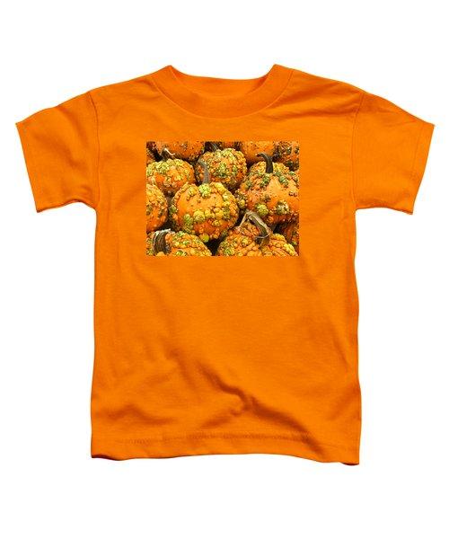 Textured Pumpkins  Toddler T-Shirt