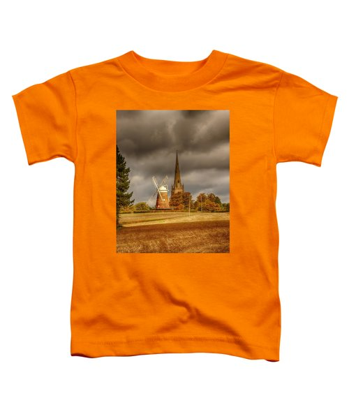 Toddler T-Shirt featuring the photograph Thaxted Village by Chris Cousins