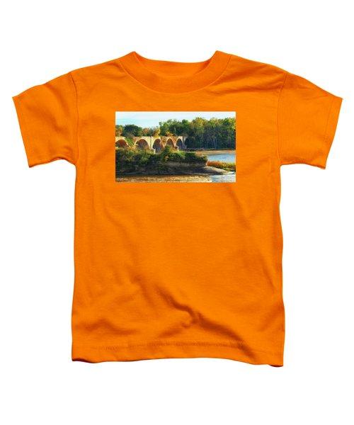 The Old Bridge  Toddler T-Shirt