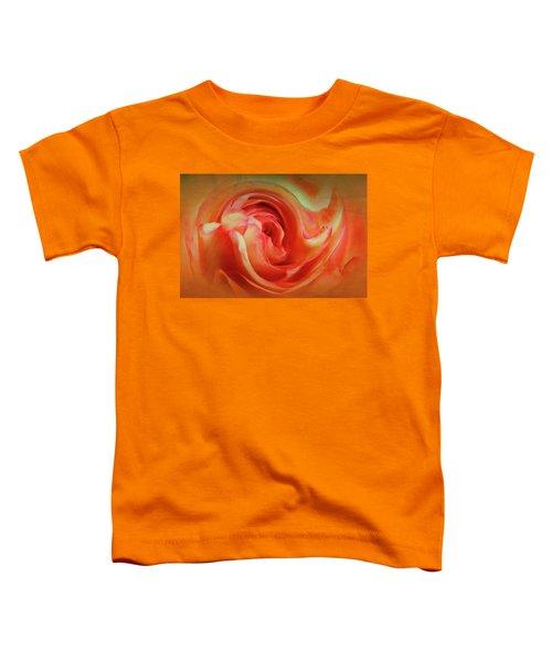 Twirling Rose Toddler T-Shirt