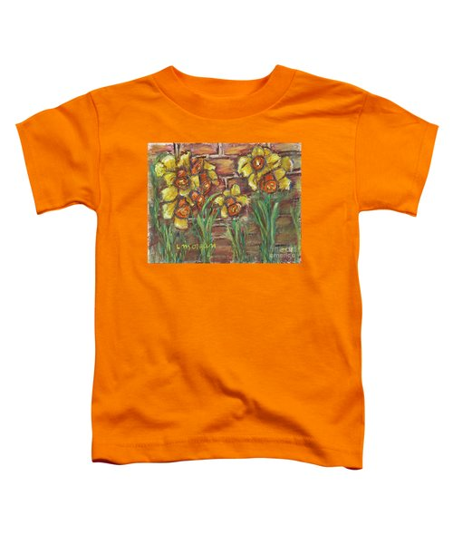 Two Toned Daffodils Toddler T-Shirt