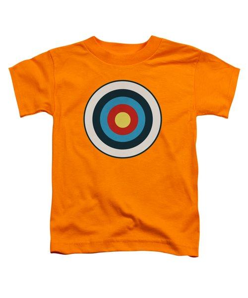 Vintage Target - Orange Toddler T-Shirt