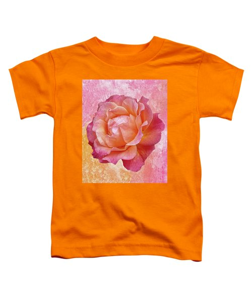 Warm And Crunchy Rose Toddler T-Shirt