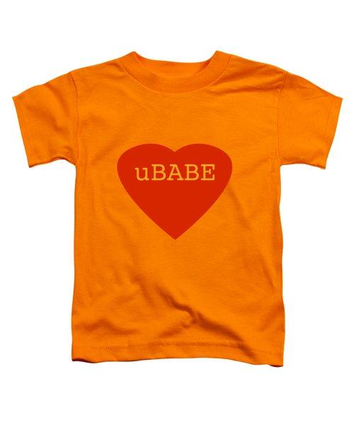Warm Love Heart Toddler T-Shirt
