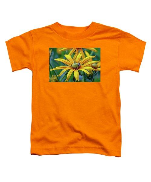 Yellow Flower Toddler T-Shirt