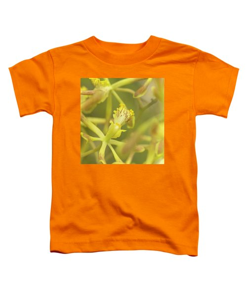 Yellow Orchid Toddler T-Shirt