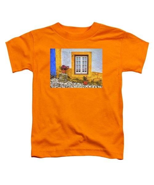 Yellow Window Of Obidos Toddler T-Shirt