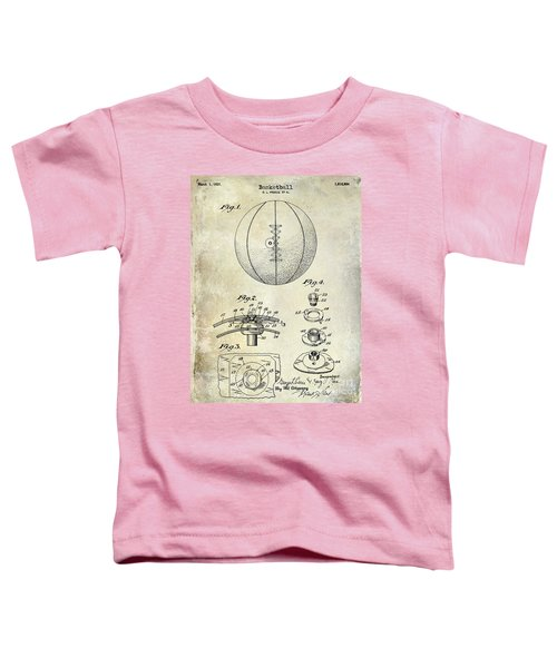 1927 Basketball Patent Drawing Toddler T-Shirt