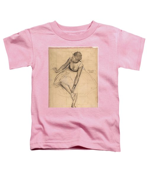 Dancer Adjusting Her Slipper Toddler T-Shirt