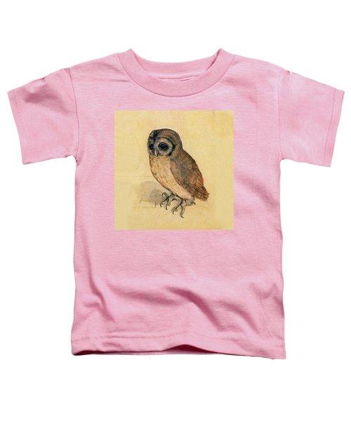 Little Owl Toddler T-Shirt