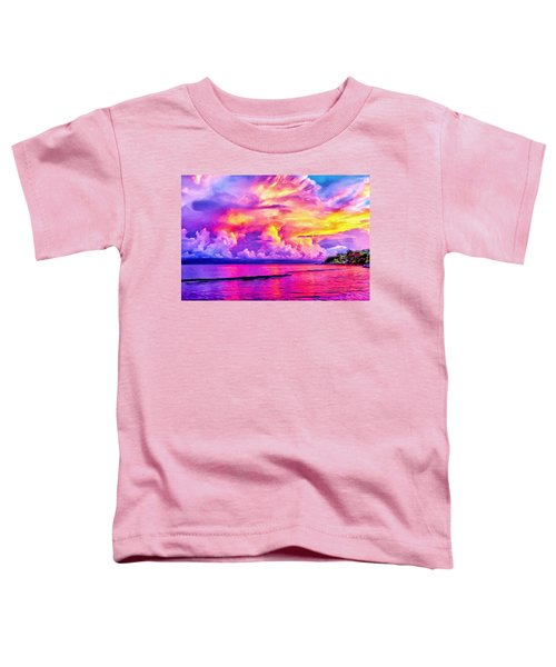 Bali Sunset Toddler T-Shirt