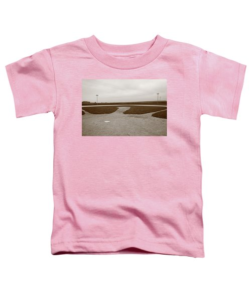 Baseball Toddler T-Shirt by Frank Romeo
