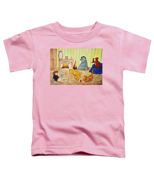 Classic Winnie The Pooh And Friends Toddler T-Shirt